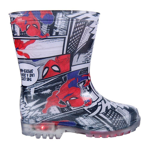 SPIDERMAN BOOTS RAIN PVC LIGHTS (2300003483)