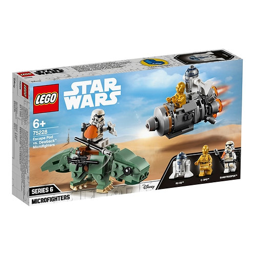 LEGO 75228 STAR WARS - Escape Pod vs. Dewback™ Microfighters