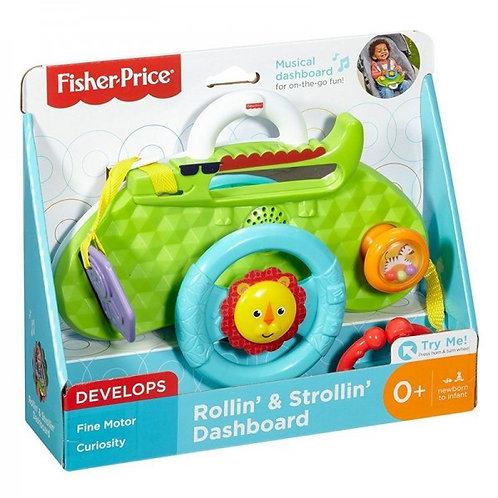 FISHER-PRICE ROLLIN' & STROLLIN' DASHBOARD  (DYW53)