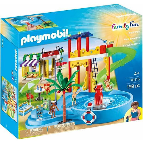 PLAYMOBIL 70115 FAMILY FUN - Water park