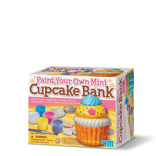 Paint Your Own Cupcake Bank