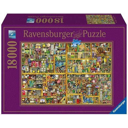 PUZZLE 18000PCS COLIN THOMPSON: MAGIC LIBRARY