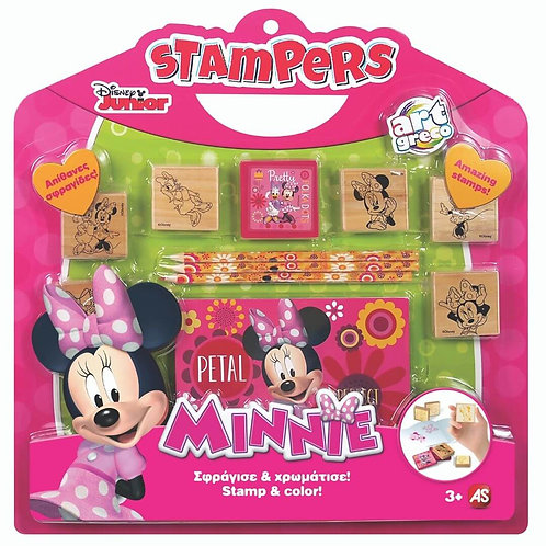 STAMPS SET STAMPERS MINNIE (1023-63020)