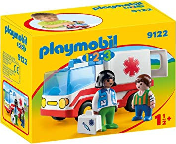 PLAYMOBIL 9122 1.2.3 - Rescue Ambulance