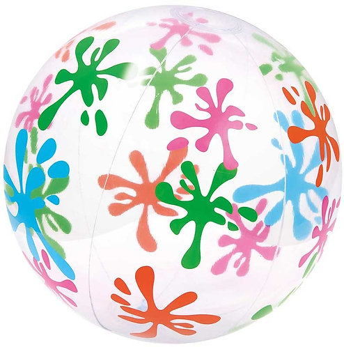 PATTERNED BEACH BALL 24 INCH