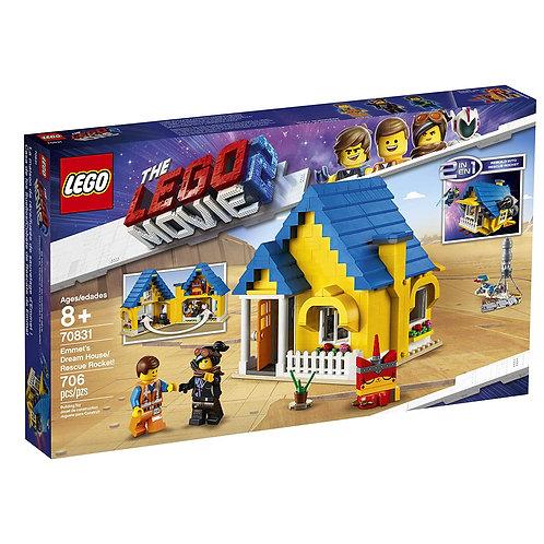 LEGO 70831 THE LEGO MOVIE 2 - Emmet's Dream House/Rescue Rocket!