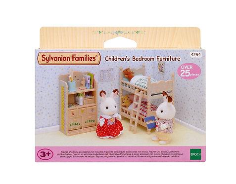 SYLVANIAN FAMILIES: CHILDREN'S BEDROOM FURNITURE (4254)