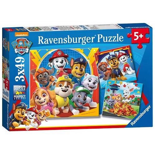 RAVENSBURGER PUZZLES 3X49 PCS PAW PATROL