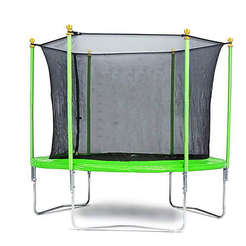 OZZY TRAMPOLINE WITH SAFETY NET 8FT