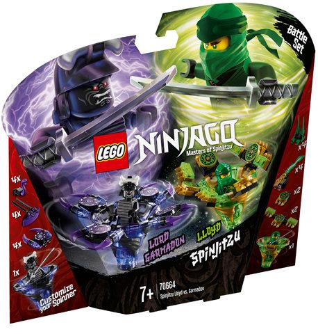 LEGO 70664 NINJAGO - Spinjitzu Lloyd vs. Garmadon