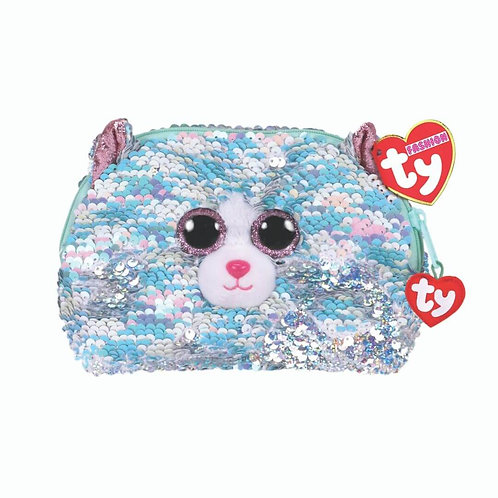 TY WHIMSY SEQUIN ACCESSORY BAG PLUSH