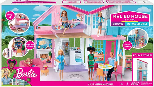 BARBIE MALIBU HOUSE PLAYSET (FXG57)