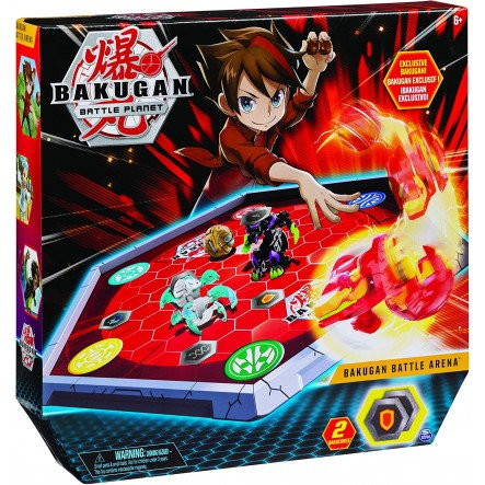 SPIN MASTER BAKUGAN BATTLE PLANET - BAKUGAN RED BATTLE ARENA (6045142)