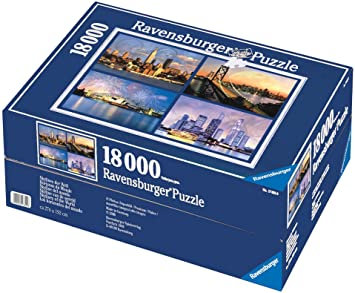 PUZZLE 18000PCS SKYLINES OF THE WORLD