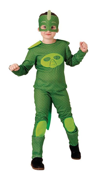 CARNIVAL COSTUME - GREEN MASK HERO