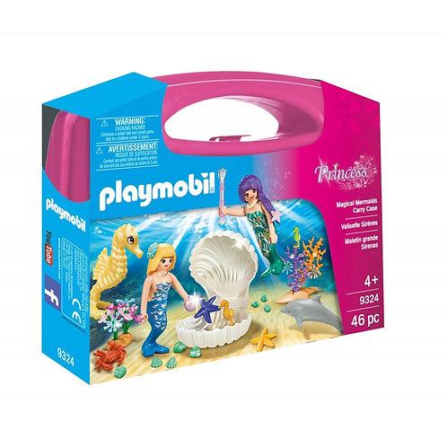 PLAYMOBIL 9324 PRINCESS - Magical Mermaids Carry Case
