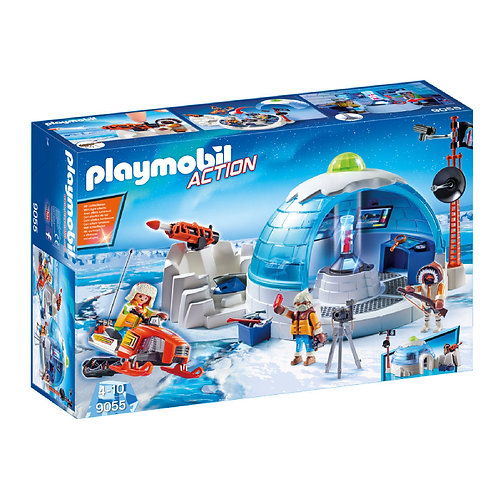 PLAYMOBIL 9055 ACTION - Arctic Expedition Headquarters