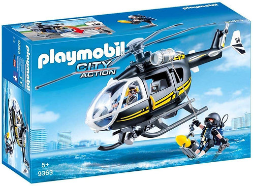PLAYMOBIL 9363 CITY ACTION - SWAT Helicopter