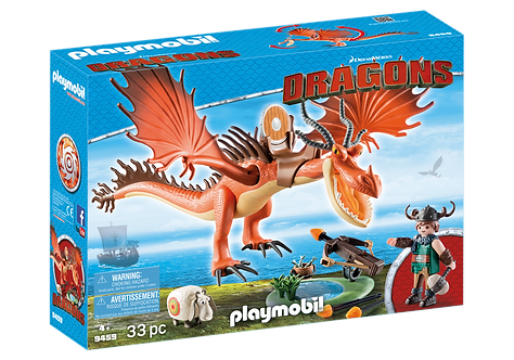 PLAYMOBIL 9459 DRAGONS - Snotlout and Hookfang