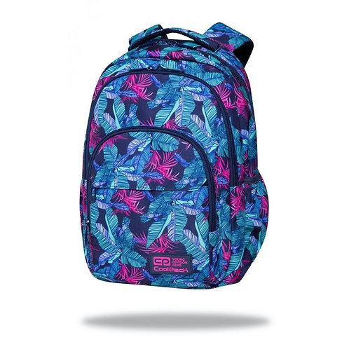 COOLPACK - BASIC PLUS - BACKPACK - TURQUOISE JUNGLE