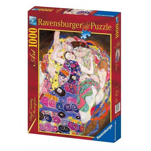 RAVENSBURGER 1000 PCS PUZZLE KLIMT: VIRGIN