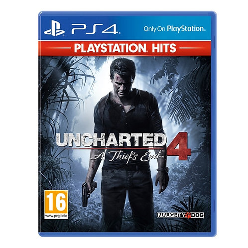 PS4 UNCHARTED 4 (HITS)