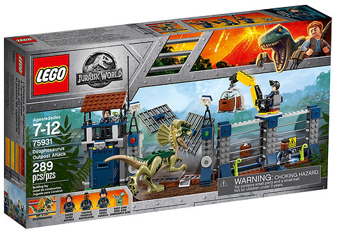 LEGO 75931 JURASSIC WORLD - Dilophosaurus Outpost Attack