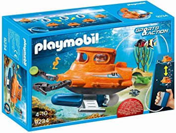 PLAYMOBIL 9234 SPORTS & ACTION - Submarine with Underwater Motor