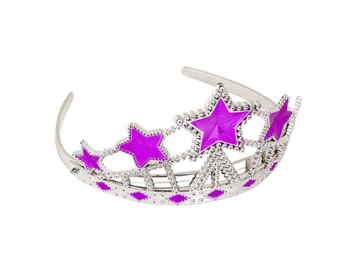 PRINCESS CROWN WITH STAR PINK