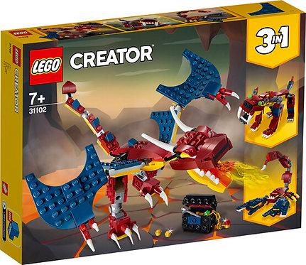 LEGO 31102 CREATOR - Fire Dragon