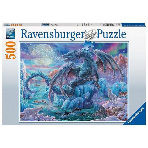 RAVENSBURGER PUZZLE 500 PCS MYSTICAL DRAGON