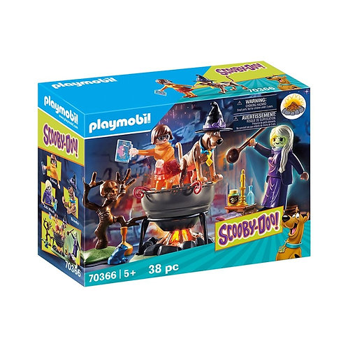 PLAYMOBIL 70366 SCOOBY-DOO! - Adventure in the Witch's Cauldron