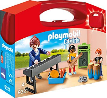 PLAYMOBIL 9321 CITY LIFE - Music Class Carry Case