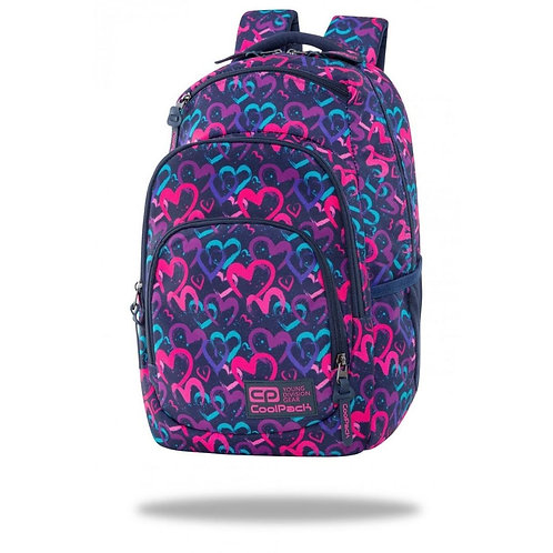 COOLPACK - VANCE - BACKPACK - DRAWING HEARTS