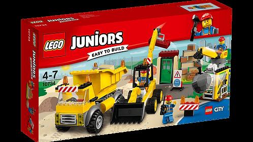 LEGO 10734 JUNIORS - Demolition Site