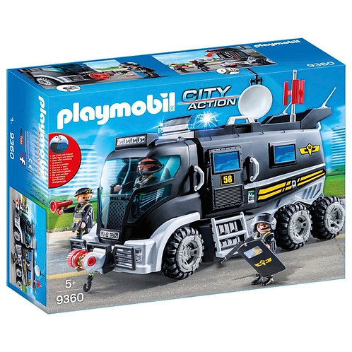 PLAYMOBIL 9360 CITY ACTION - SWAT Truck