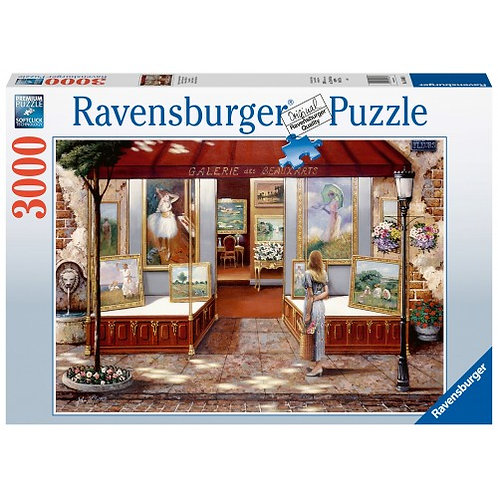 RAVENSBURGER PUZZLE 3000 PCS GALLERY OF FINE ARTS