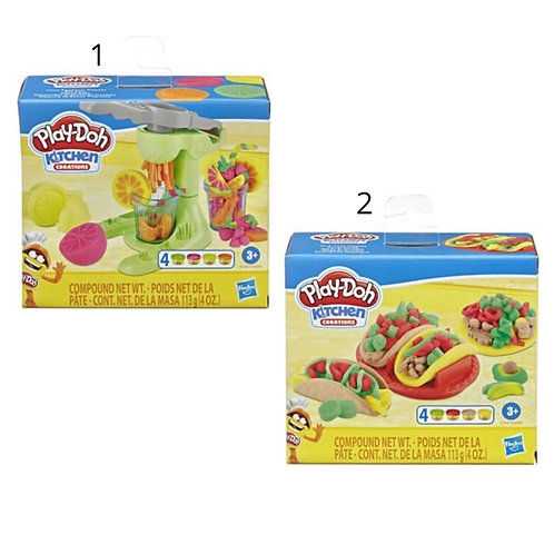 PLAY-DOH FOODIE FAVORITES AST (E6686)