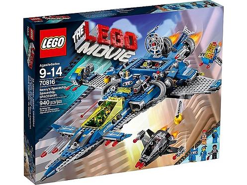 LEGO 70816 THE LEGO MOVIE - Benny's Spaceship, Spaceship, SPACESHIP!