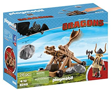 PLAYMOBIL 9245 DRAGONS - Gobber with Catapul