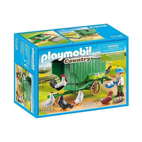 PLAYMOBIL 70138 COUNTRY - Chicken Coop