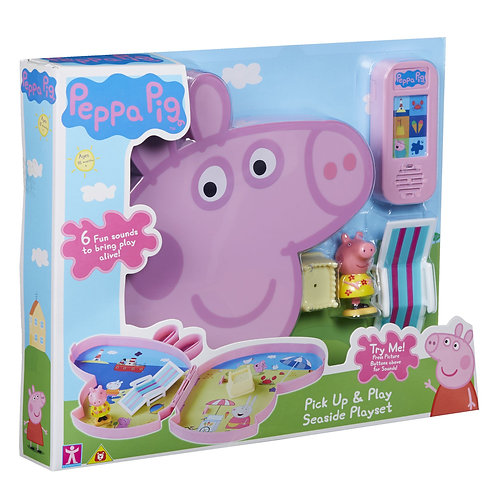 PEPPA PIG AT THE BEACH - PLAYSET (PPC35100)