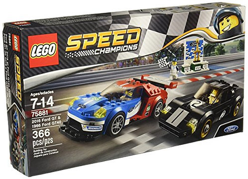 LEGO 75881 SPEED CHAMPIONS - Ford GT & 1966 Ford GT40