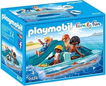 PLAYMOBIL 9424 FAMILY FUN - Floating Paddle Boat