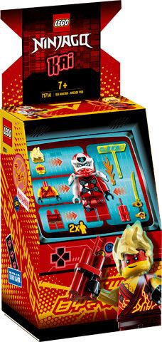 LEGO 71714 NINJAGO - Kai Avatar - Arcade Pod