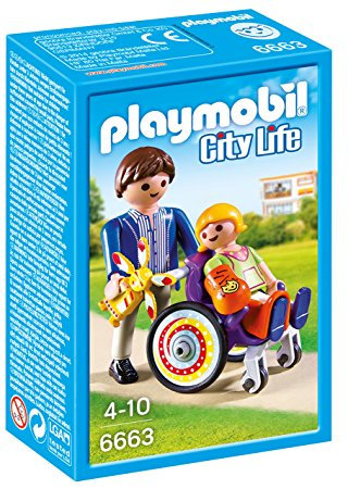 PLAYMOBIL 6663 CITY LIFE - Child in Wheelchair