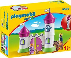 PLAYMOBIL 9389 1.2.3 - Castle with Stackable Towers