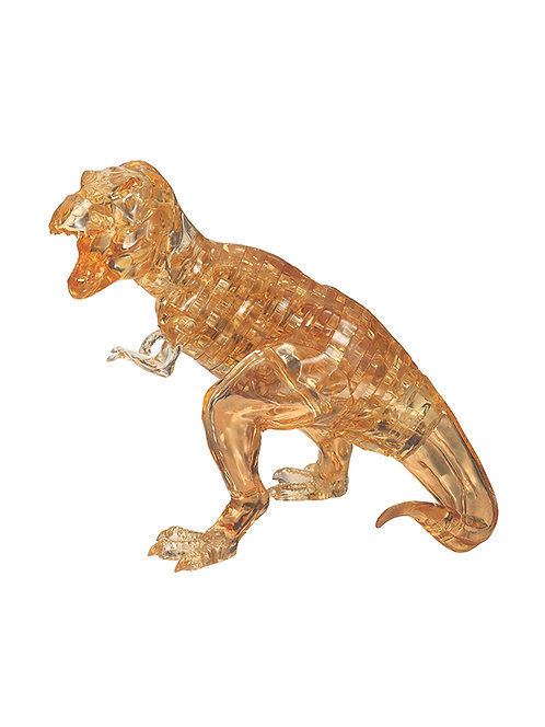 CRYSTAL PUZZLES T-REX BROWN