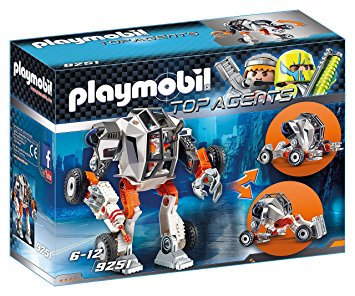 PLAYMOBIL 9251 TOP AGENTS - Agent T.E.C.s' Robot