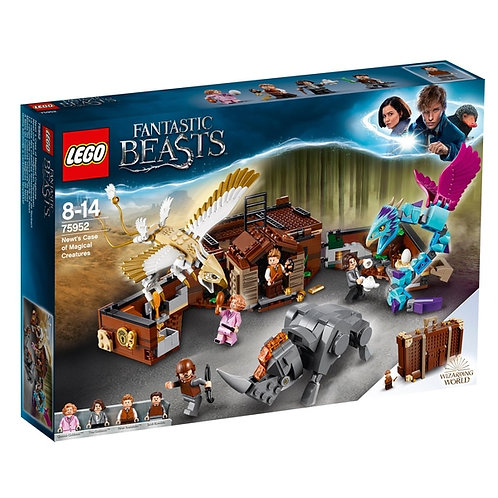 LEGO 75952 HARRY POTTER -  Newt´s Case of Magical Creatures